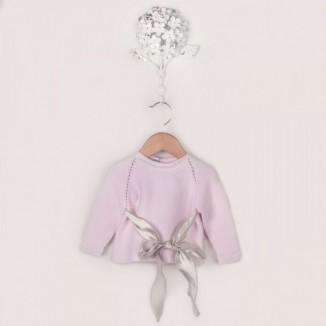 Jersey de punto bobo 100% algodón de manga larga