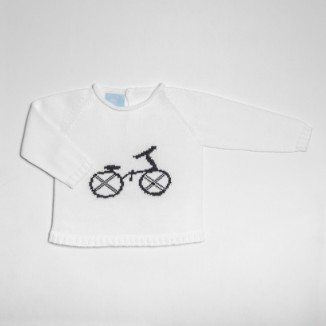 JERSEY BEBÉ MANGA LARGA BICI CO