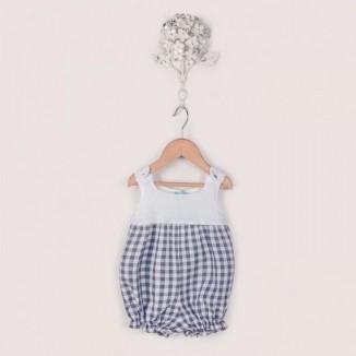 Ranita House sin manga canesú de punto y cuerpo algodón 100%
