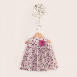 Vestido pichi Studio sin mangas estampado de flores
