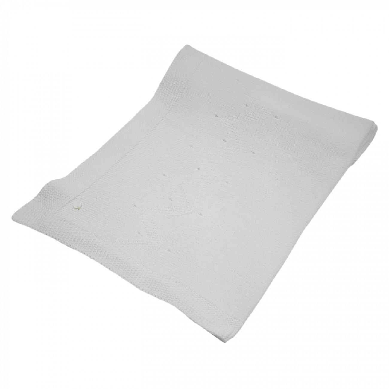 Manta blanca Aliso de algodón